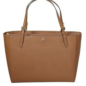 Tory Burch Emerson Large Tote Saffiano Leather Bag